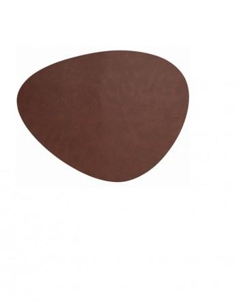 Mantel individual oval...