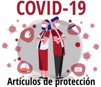 Material de protección y desinfección para el COVID-19